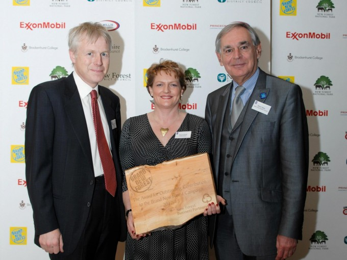 The Award for Outstanding Contribution to the Brand New Forest Campaign