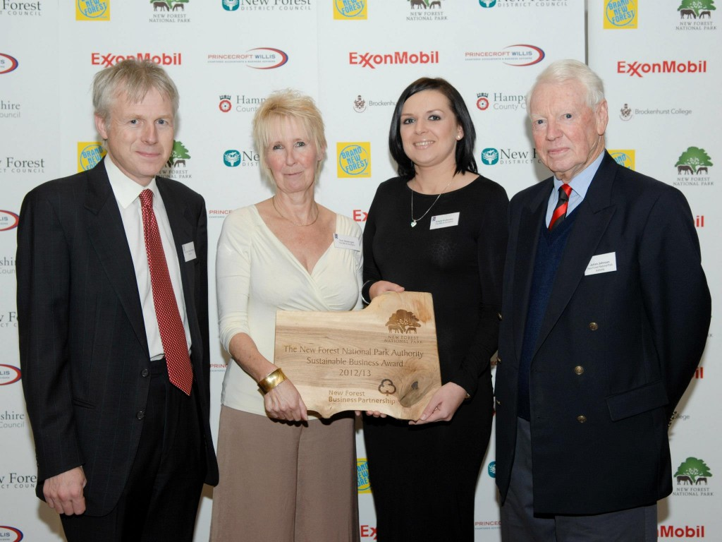 The New Forest National Park Authority Sustainable Business Award