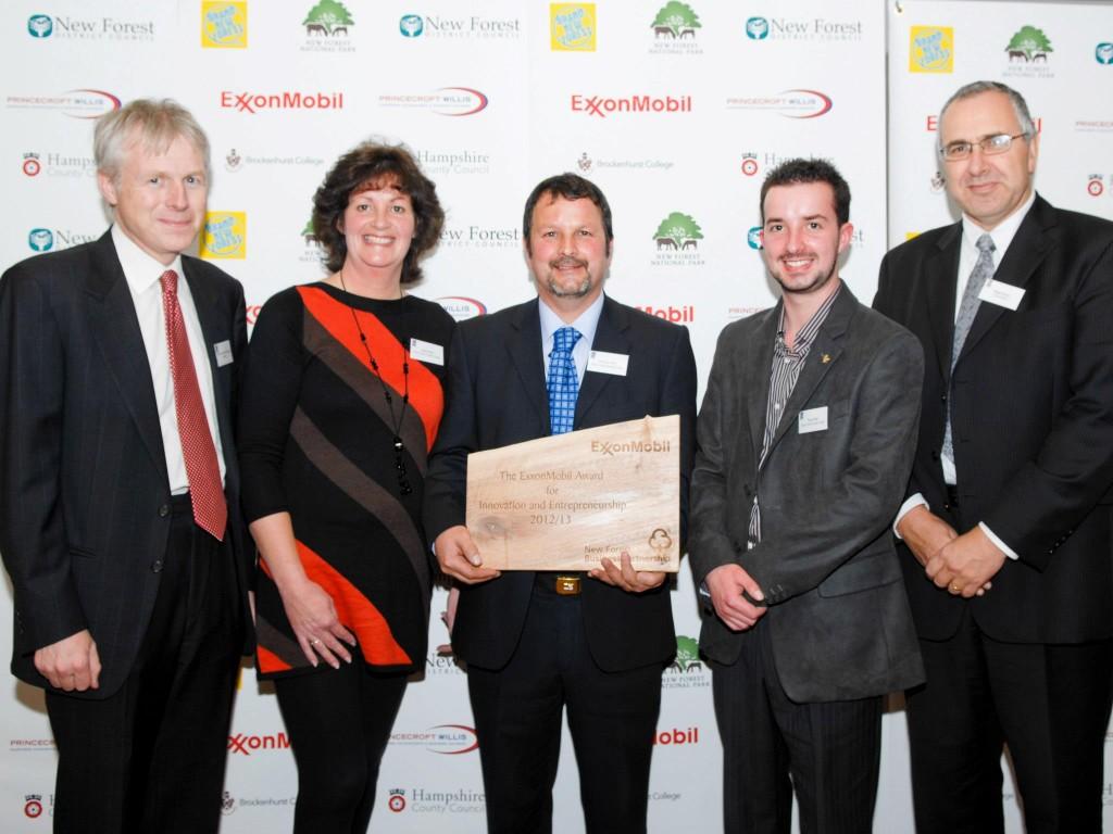 The ExxonMobil Award for Innovation and Entrepreneurship