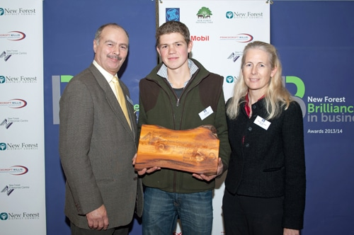 The New Forest Enterprise Centre Young Entrepreneur Award