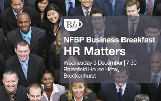 New Forest Business Breakfast on 3 Dec 14 at Rhinefield House Hotel