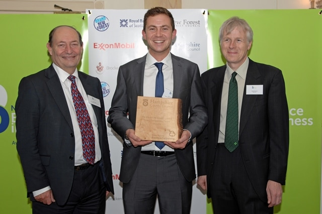 The Hampshire County Council Award for Young Person in Business