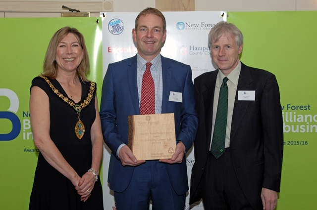 The New Forest District Council Award for Outstanding Customer Care