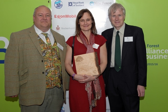 The New Forest National Park Authority Award for Sustainable Business