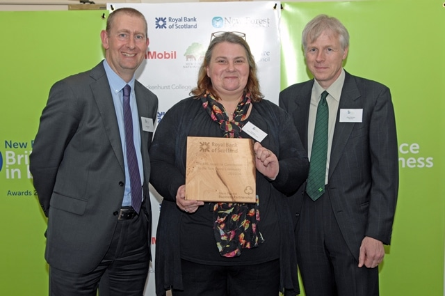 The RBS Award for Contribution to the New Forest Community