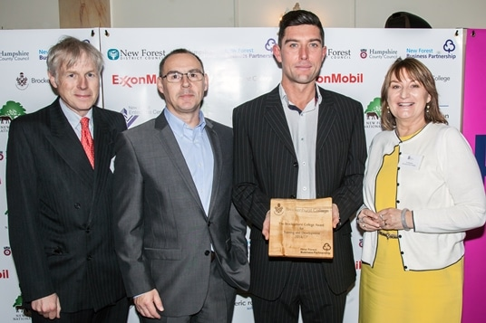 Brockenhurst College Award - Herb UK