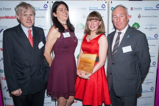 Eric Robinson Award - Kayleigh Sargeant